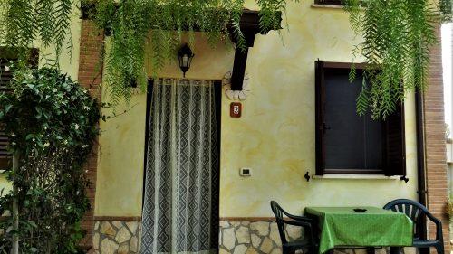 Accesso esterno agli appartamenti